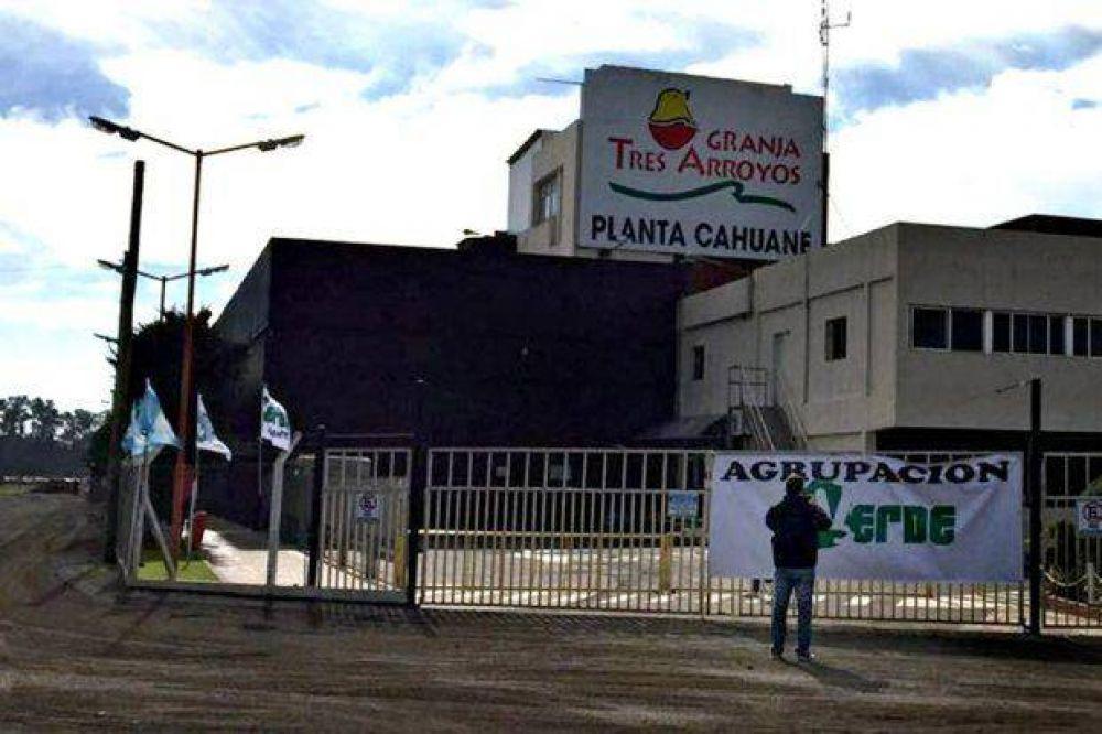Granja Tres Arroyos: denuncian  el despido de representantes gremiales en Concepción del Uruguay