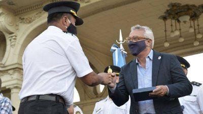 Julio Zamora reconoció la labor de la Policía de la Provincia de Buenos Aires al servicio de la comunidad de Tigre