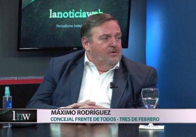 Máximo Rodríguez: «El dirigente más capacitado para conducir este proceso es Juan Debandi»