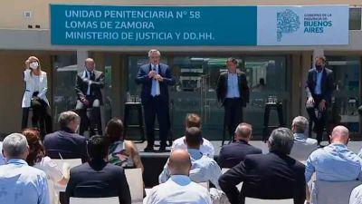Alberto Fernández inauguró un hospital penitenciario en Lomas de Zamora