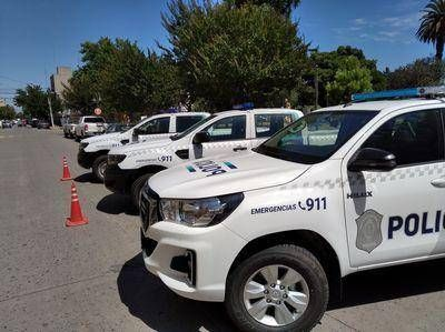 Presentaron tres nuevos móviles policiales destinados al Operativo Sol en Lobos