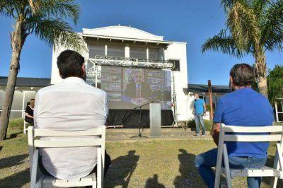 Caserio encabezó la presentación del Frente de Todos de Córdoba Capital