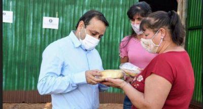 Programa Nacional PISEAR: Oscar Herrera Ahuad entregó fondos a cooperativas y productores de Colonia Aurora