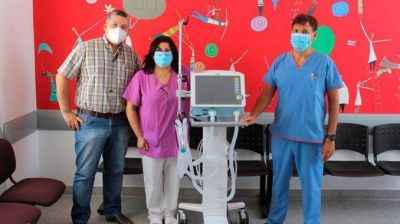 El Hospital de Balcarce incorporó un nuevo respirador automático