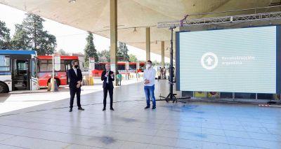 El Ministerio de Transporte anunció la remodelación de la terminal de ómnibus de Luján