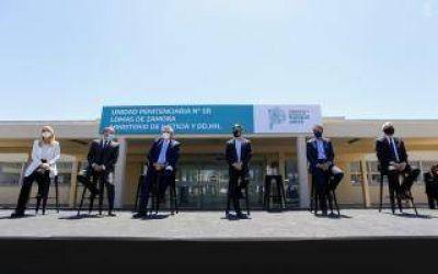Lomas de Zamora: Inauguraron hospital en la Unidad 58 y anunciaron continuidad de ampliación de plazas en cárceles