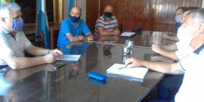 Plan de Forestación: reunión con ingenieros agrónomos