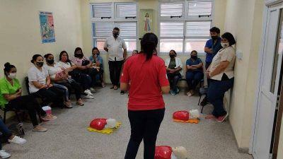 En los barrios los equipos de los centros de salud se entrenan en RCP