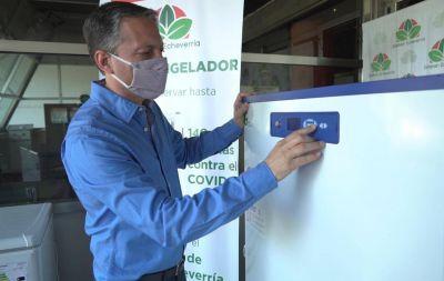 El municipio incorporó un súper freezer para las vacunas del Covid-19