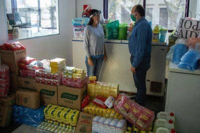 Campaña solidaria logra 8.500 raciones de comida para familias necesitadas