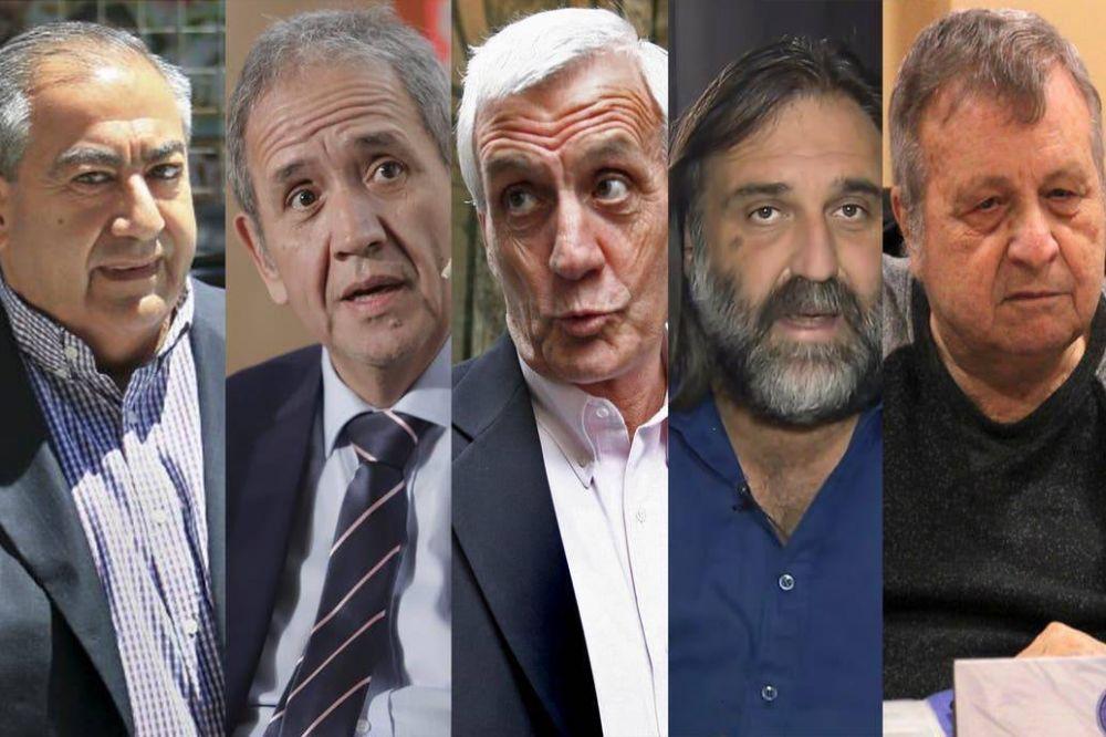 El futuro de la CGT y cinco sindicalistas que deberán renovar su poder