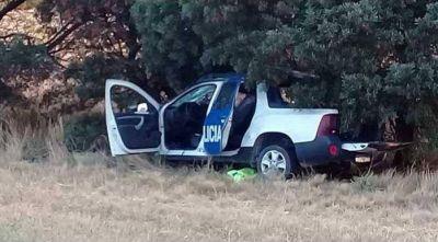Necochea: murió una mujer policía tras una persecución y un choque en la ruta