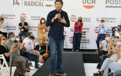 Gustavo Posse presenta la Lista 14 marplatense que es encabeza Nicolás Maiorano