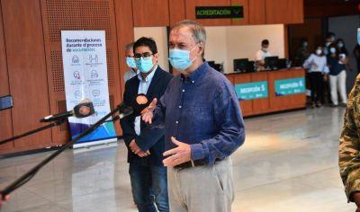 Schiaretti recorrió el centro de vacunación de Córdoba: