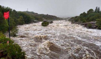 Advierten abruptas crecidas en los ríos serranos de Córdoba
