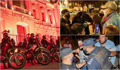 SEOM repudió el operativo en Plaza Belgrano: