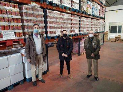 La Federación de Peñas de Logroño dona al Banco de Alimentos 803 kilos de la campaña 'Alimenta Sonrisas 2020'
