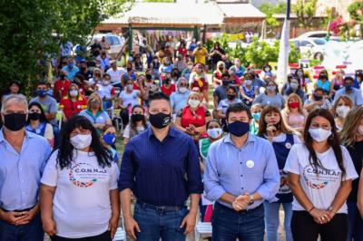 Merlo | Menéndez y Arroyo participaron del cierre de año de los jardines comunitarios