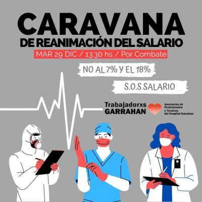 Trabajadores del Garrahan movilizan contra las paritarias que firmó Andrés Rodríguez