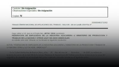 Fallo confirma a Correa al frente de la Federación de azucareros y desbarata la maniobra macrista