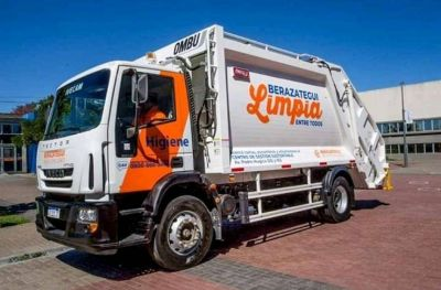 Berazategui trabaja en la reanudación de la recolección de residuos