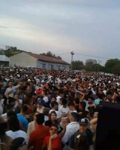 La Fiesta de la Estación de Jáuregui terminó con incidentes