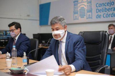 Llaryora presentó en el Concejo el Plan de Metas de Gobierno 2020-2023