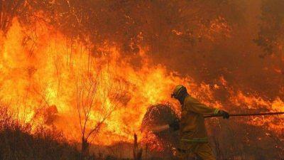 Hay focos activos de incendios en Córdoba, Neuquén y Misiones