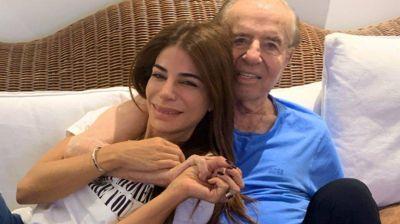 Carlos Menem sigue internado en estado delicado pero con una leve mejoría