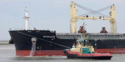Gremios marítimos de paro en el sector de remolque portuario por reclamos salariales