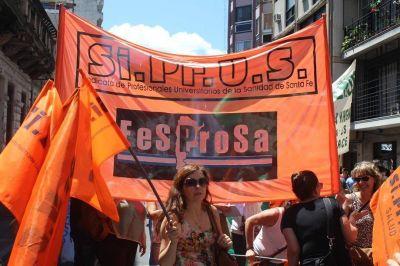 Santa Fe: Trabajadores de la salud realizan paro por 72 horas