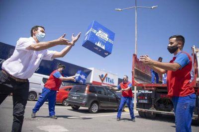 SuperMayorista Vital donó 1.000 cajas navideñas en comedores de La Plata