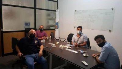 Municipales de Vicente López se reunieron con dirigentes del Ejecutivo para revisar el bono de fin de año