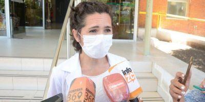 Acciardi destacó que el sistema de salud municipal está