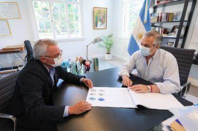 Alberto Fernández recibió a Julio Zamora para interiorizarse sobre el plan de vacunación en Tigre