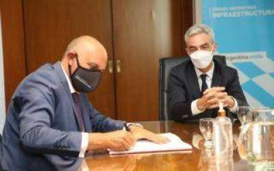 Exintendente de Pinto Alexis Guerrera asumió de manera formal en Trenes Argentinos Infraestructura