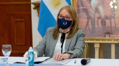 Santa Cruz: Alicia Kirchner dio positivo de coronavirus