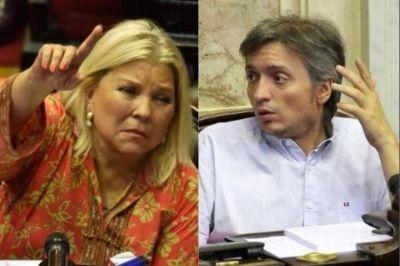 """Máximo y Carrió: Las """"hinchadas"""" los piden, ¿habrá superclásico?"""