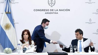 Cristina y Massa recibieron el informe sobre escuchas que complica a Lorenzetti