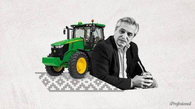 Alberto inicia el 2021 con una crisis con el campo en puerta: les prohíbe exportar maíz y saltan los reclamos