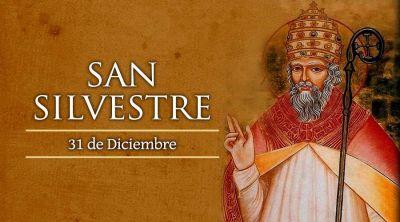 Hoy se conmemora a San Silvestre, el primer Papa que no murió mártir