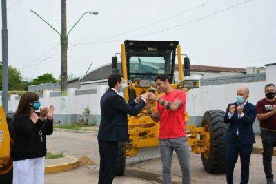 General Rodríguez comprará maquinaria vial gracias a aportes del Plan Municipios de Pie