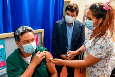 Coronavirus | Comenzó el operativo de vacunación contra el Covid-19 en La Matanza