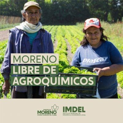 En Moreno: prohibido los agrotóxicos