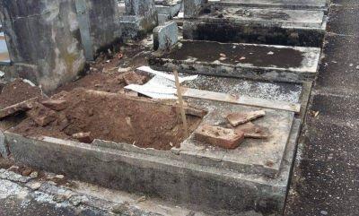 AMIA repudió vandalismo en el Cementerio Israelita de Berazategui