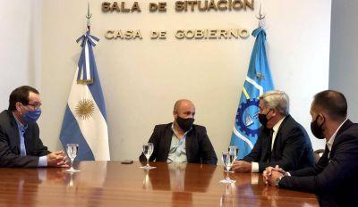 Sastre recibió a las autoridades del Poder Judicial tras el anuncio de Arcioni de un proyecto de reforma