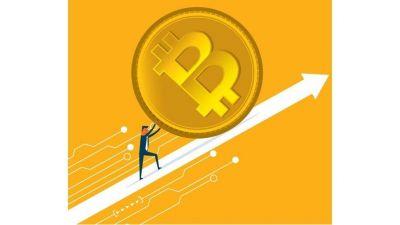Imparable, el precio del bitcoin hoy superó los USD 30.000