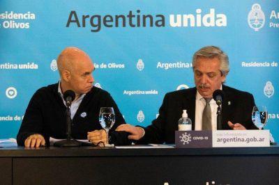 La relación entre Alberto Fernández y Rodríguez Larreta volvió a tensarse por los fondos coparticipables en la primera semana del año electoral