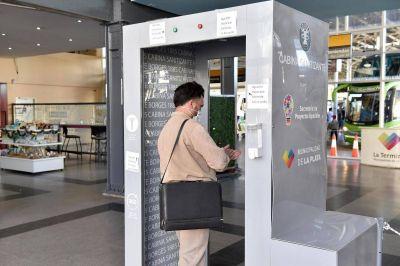 Establecen protocolos sanitarios en la Terminal para los viajes de media y larga distancia