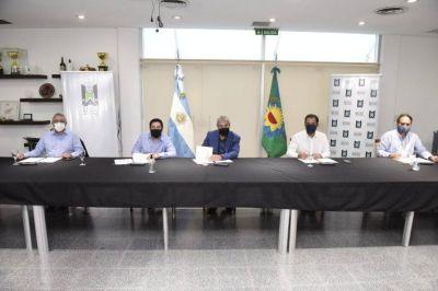 Firma de convenio de adhesión al Programa Casa Propia